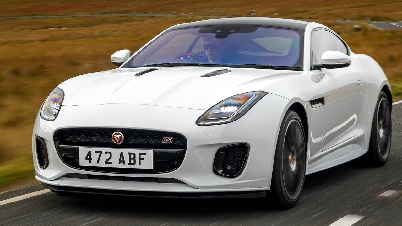2019 Jaguar F-Type Chequered Flag Limited Edition - YouTube