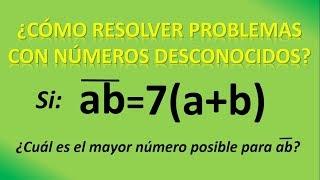 CÓMO USAR LA DESCOMPOSICIÓN POLINÓMICA en problemas con números
