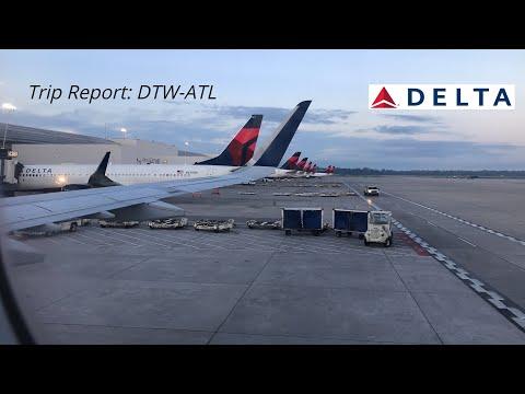 TRIP REPORT: Delta Air Lines | Detroit-Atlanta | A321-200