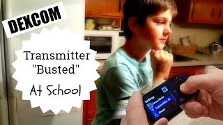 Dexcom Transmitter Failed At School | Replacing Transmitter