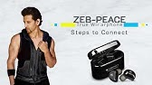6637372a332 True wireless earphone Zeb-Peace | Zebronics - YouTube