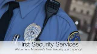 Monterey Security Guards | Private Business & Residential Security Service
