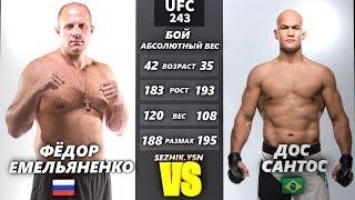 UFC БОЙ Фёдор Емельяненко vs Дос Сантос 3 steam kay