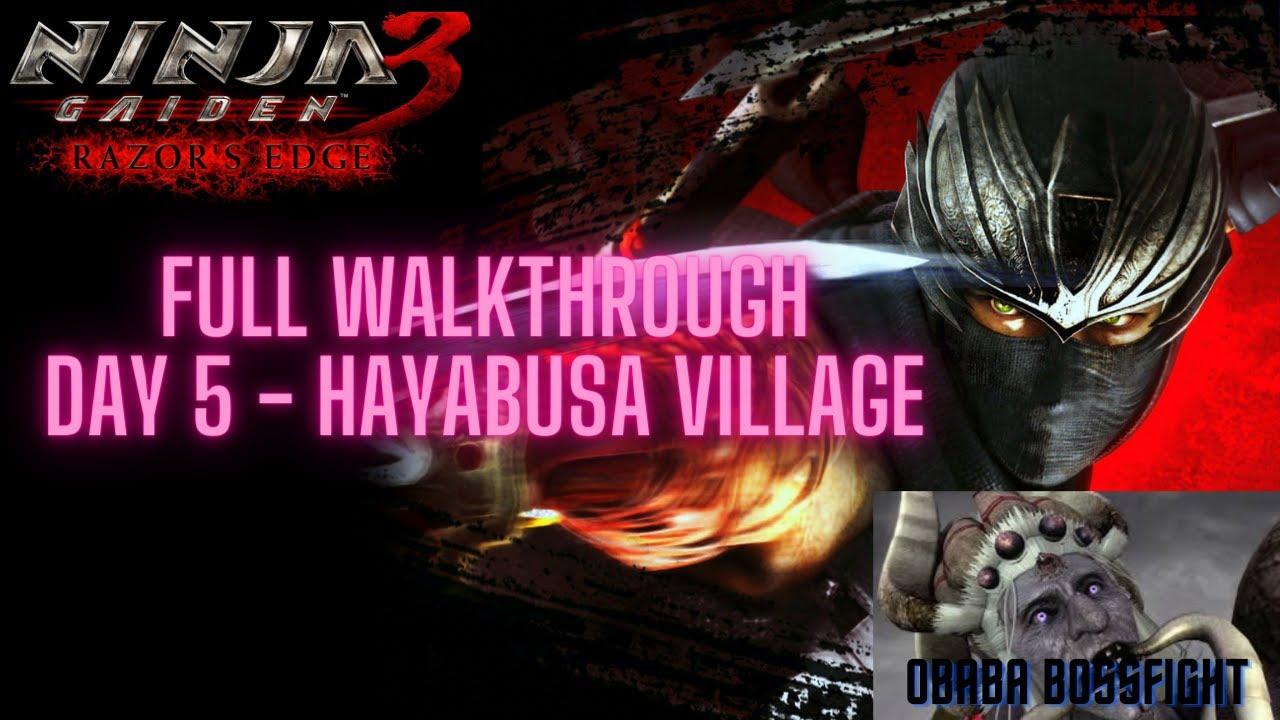 Download Ninja Gaiden 3: Razors Edge   PC   Full Walkthrough   Day 5 Hayabusa Village   Boss Fight Obaba