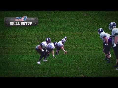 Drill OL : zone block unison drill
