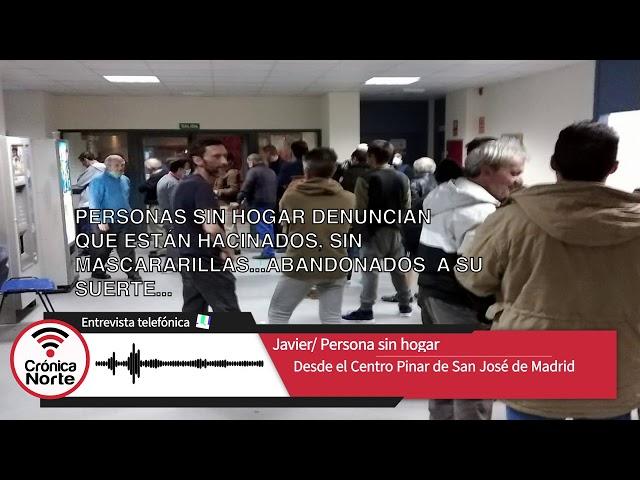 100 personas abandonadas a sus suerte.... (video rescatado de finales de marzo 2020)