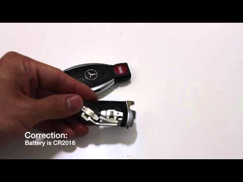 Mercedes key fob remote battery replacement keyless go for How to change mercedes benz key battery