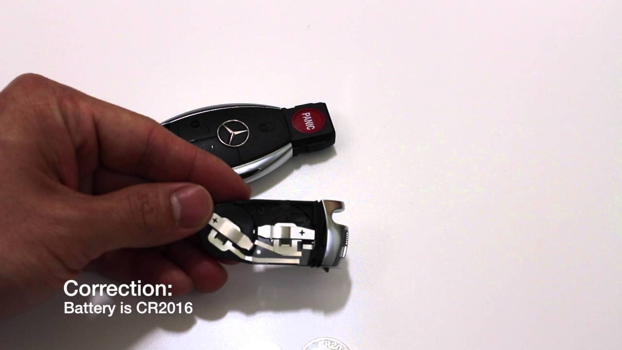 Mercedes Key Fob/ Remote Battery Replacement (Keyless Go ...
