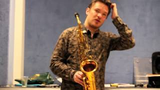 Baptiste Herbin Saxophone Jazz Lesson