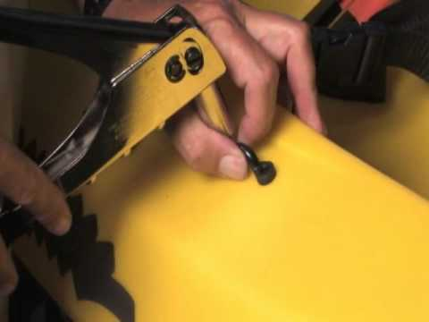 Surf to Summit Kayak Tutorials - Pad Eye Installation