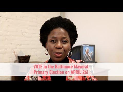 Citizen Artist Baltimore CJay Philip Arts Voter