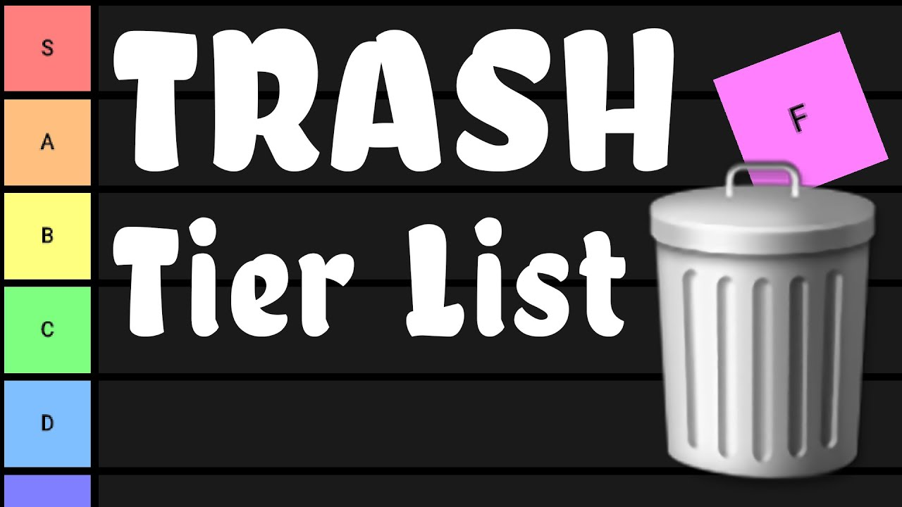 THIS TIER LIST IS TRASH. 14 Crafting Uses for Common Garbage