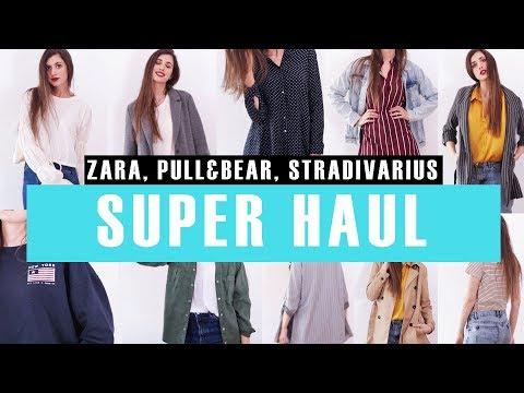 Súper HAUL de Ropa de Temporada! (Primavera 2018 - Try On) | Zara, Pull&Bear y Stradivarius