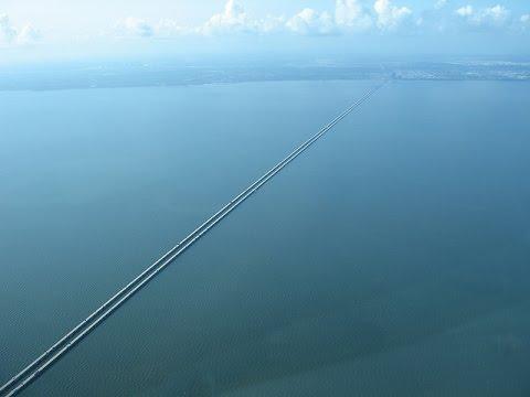 The Earth is FLAT ~ Lake Pontchartrain Causeway