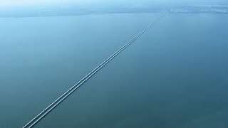 The Earth is FLAT ~ Lake Pontchartrain Causeway