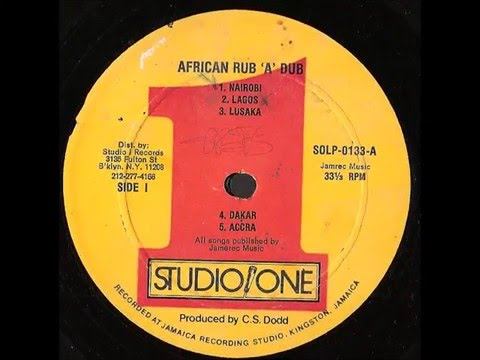 AFRICAN RUB 'A' DUB -- full album -- studio 1 records Dub Specialist (1980)