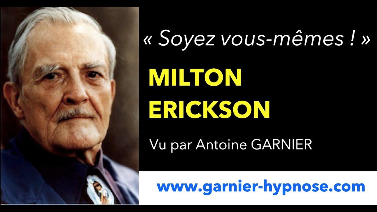 Analyse de l'interview de Milton Erickson
