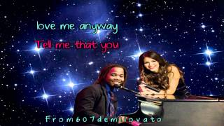 Victoria Justice Tell me that you love me Karaoke (HD)