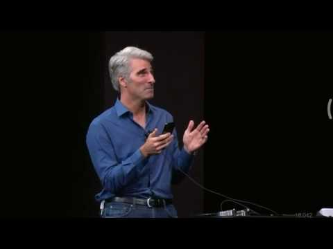 Apple Face ID FAIL during the presentation of the NEW iphone X (Apple event 2017)
