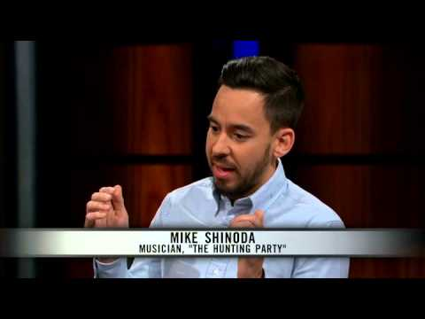 Mike Shinoda tells Bill Maher what makes him angry now