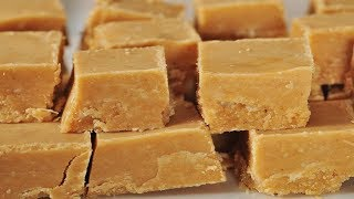 Peanut Butter Fudge Recipe Demonstration - Joyofbaking.com
