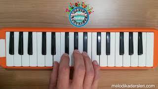 Melodika Sarı Çizmeli Mehmet Ağa Çalınışı Notası