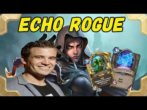 Kibler is playing new Tess Greymane Burgle Echoe rogue deck (The Witchwood)