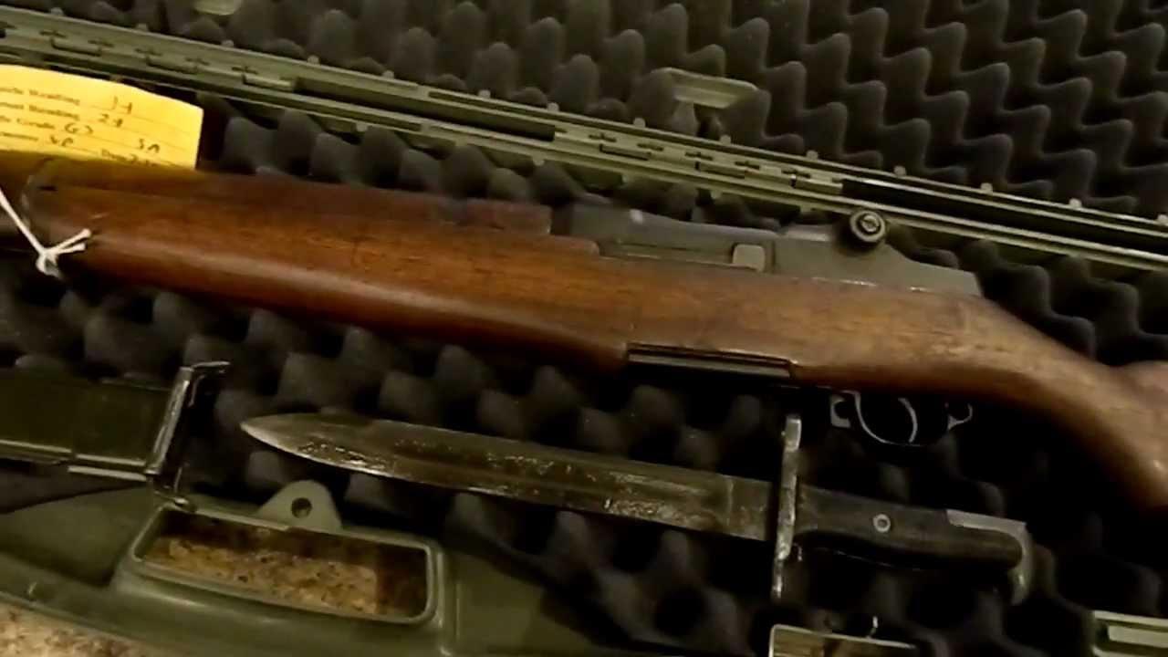 CMP Service Grade M1 Garand (Springfield Armory 1955) - YouTube