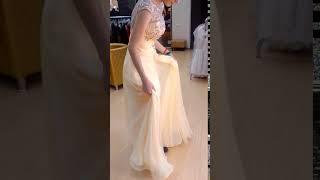 Роскошное выпускное платье со стразами