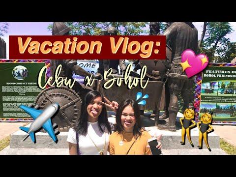 Vacation Vlog: Cebu x Bohol