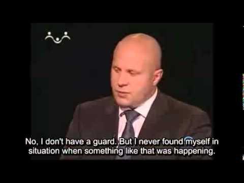 Fedor Emelianenko about violence