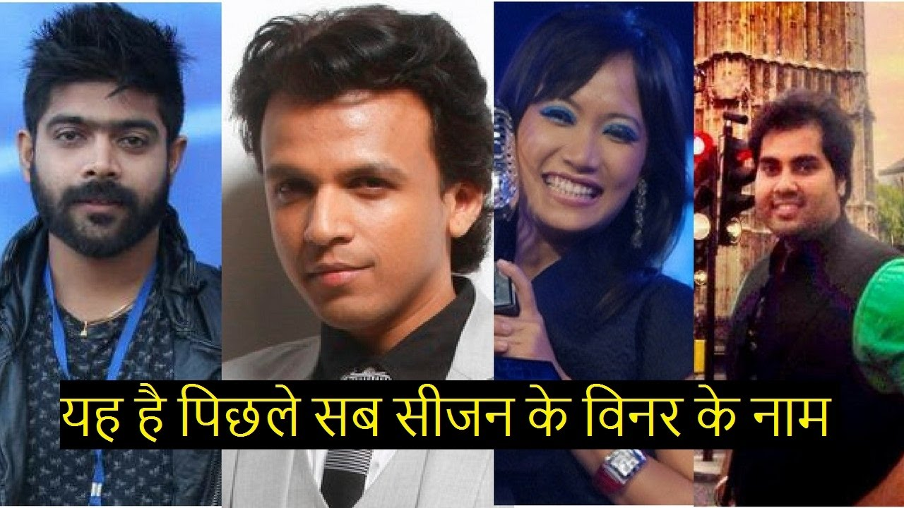 Indian Idol All 9 Season Winner Name