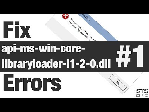 How To Fix Api-ms-win-core-libraryloader-l1-2-0.dll Errors Method #1