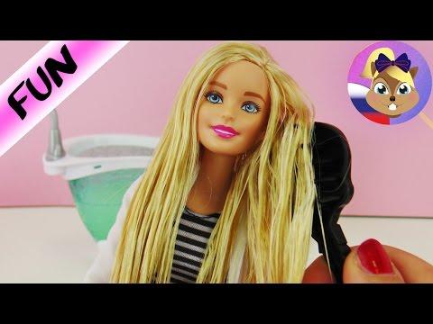Что Сделать Со Спутанными Волосами Куклы