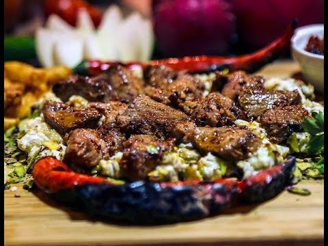 How to cook Alinazik Kebab