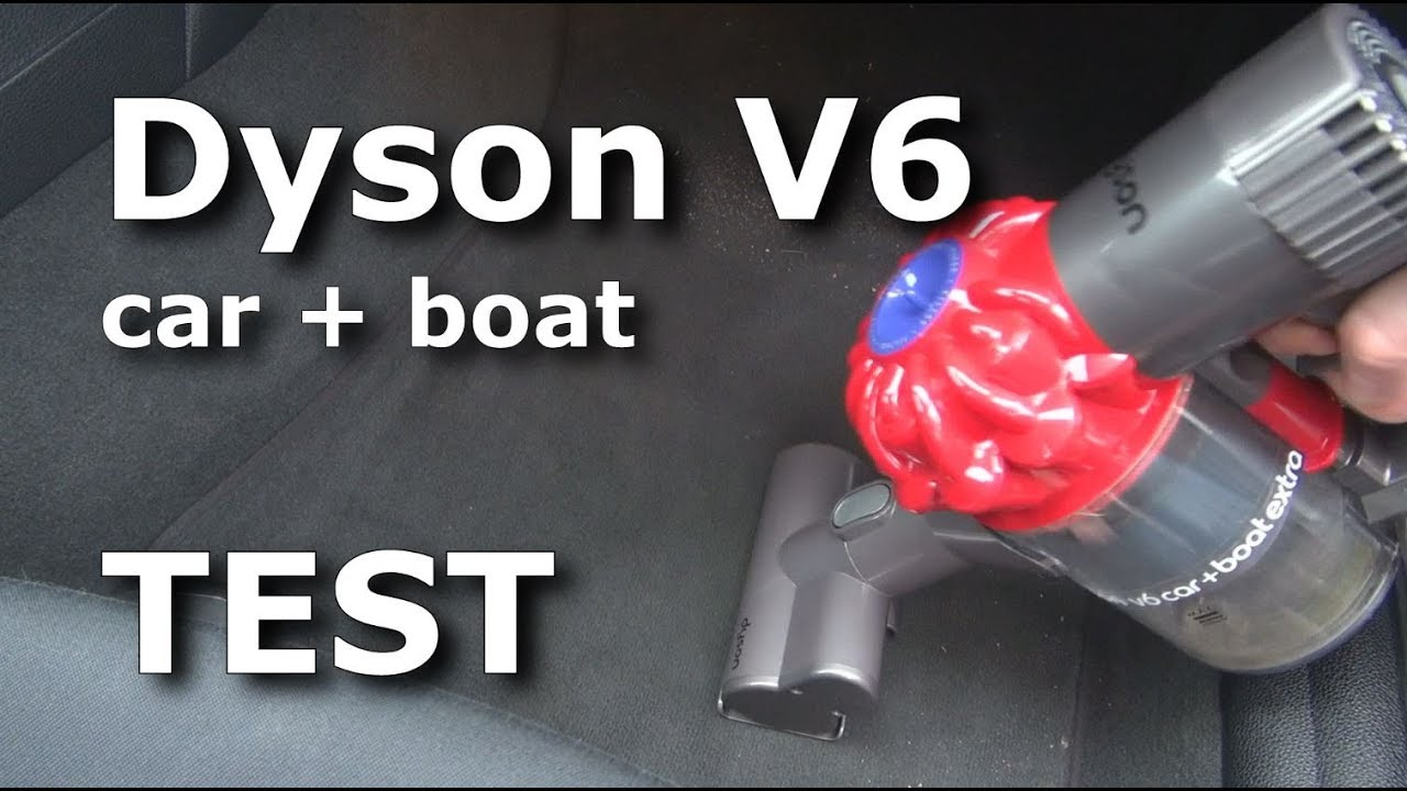 dyson v6 car boat test saugtest anwendung review. Black Bedroom Furniture Sets. Home Design Ideas