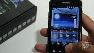 Review Celular Smartphone GENESIS GP-351 Dual SIM com Android 2.3
