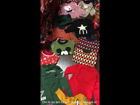Nhận tách lô áo len trẻ em quảng châu giá rẻ – LH: 0977.814.677