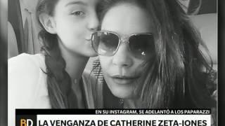 Las fotos que publicó Catherine Zeta-Jones para vengarse de los paparazzi – Telefe Noticias