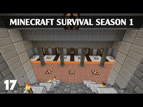Minecraft Sinh Tồn 1.8 - Ep 17 - Xây dựng Nhà Ga Xe Lửa #1