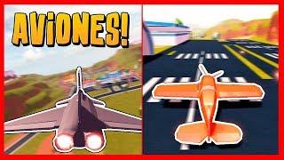 AVIONES!! NUEVA ACTUALIZACION de JAILBREAK - Roblox *Stunt Plane y Fighter Jet*