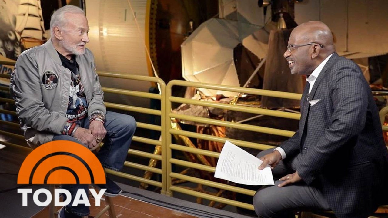 Buzz Aldrin Looks Back At His Moon Walk, Ahead At Space Exploration's Future | TODAY