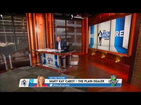 Cleveland Plain Dealer Mary Kay Cabot Talks RG3, The Browns & More (Full Interview) - 8/3/16