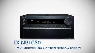 onkyo tx nr1030 network a v receiver