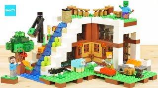 レゴ マインクラフト 滝のふもと 21134 エンダーマン / LEGO Minecraft The Waterfall Base 21134