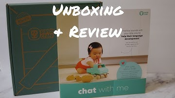 KiwiCo Chat With Me Panda Crate Unboxing and Review