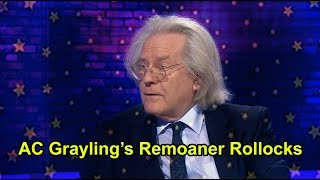 AC Grayling's Remoaner Rollocks