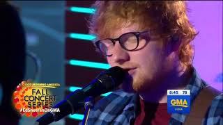 Ed Sheeran -  Perfect Live at GMA (9.25.17)