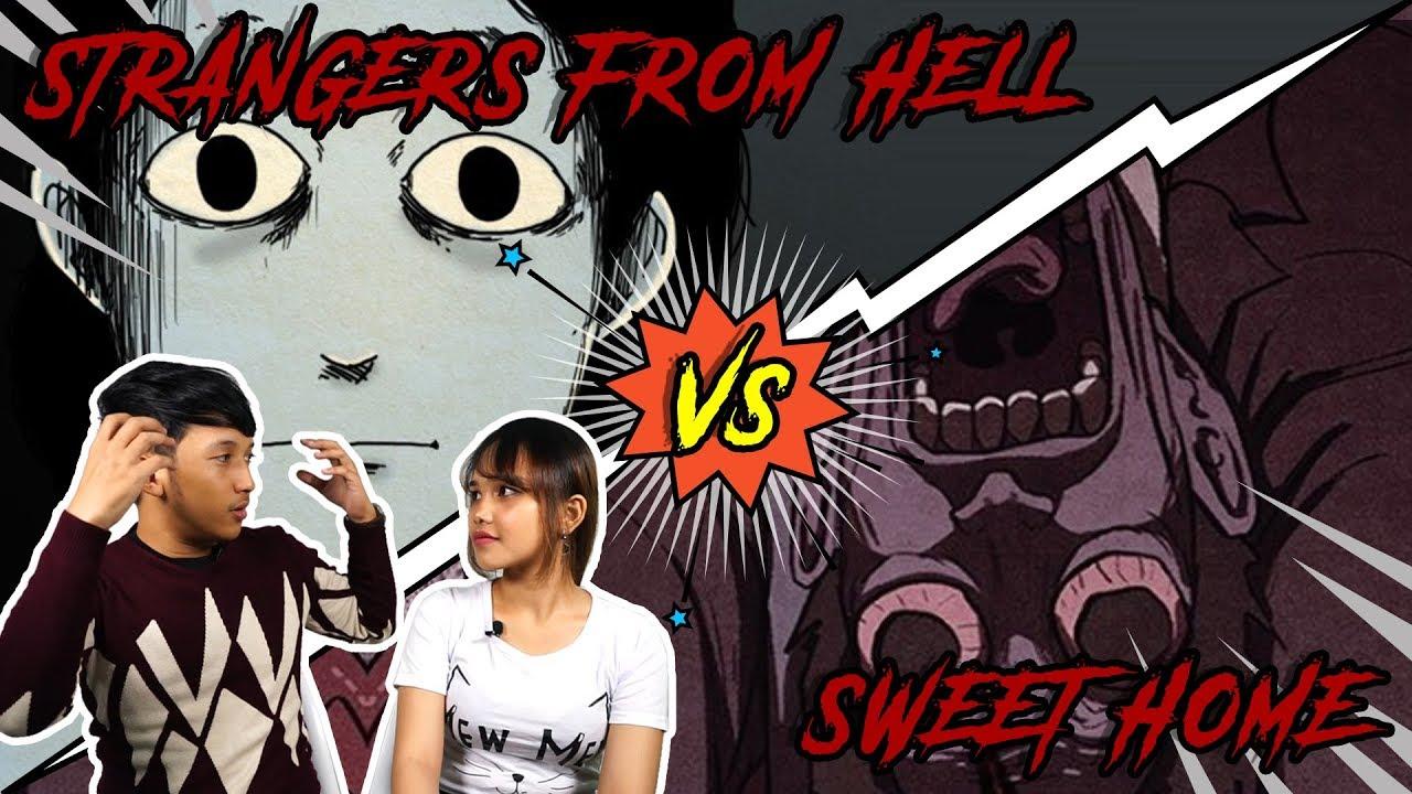 [LINE WEBTOON] SWEET HOME VS STRANGERS FROM HELL