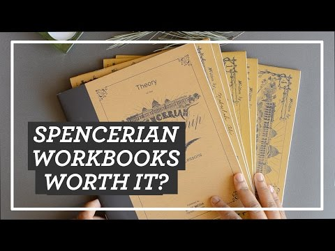 SPENCERIAN WORKBOOKS - Worth It? || Spencerian System of Practical Penmanship Review